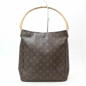Auth Louis Vuitton Looping Gm Shoulder #1019L26